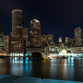 Night of Boston Harbor