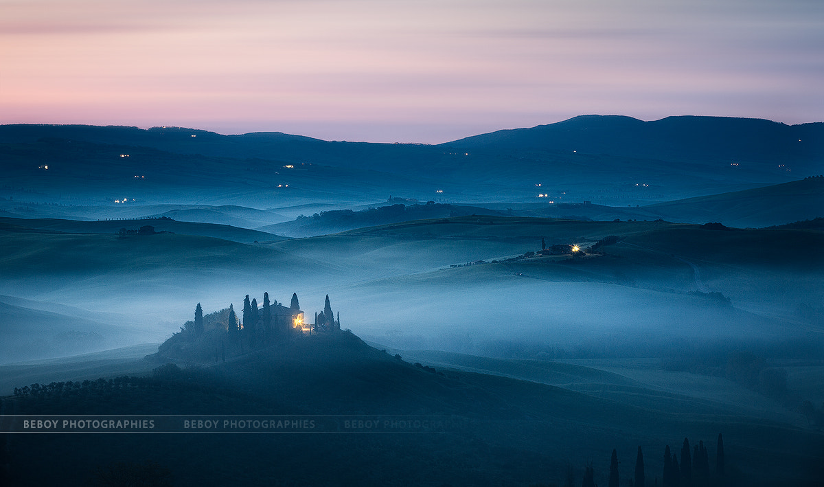 Photograph Toscana twilight by Beboy Photographies on 500px
