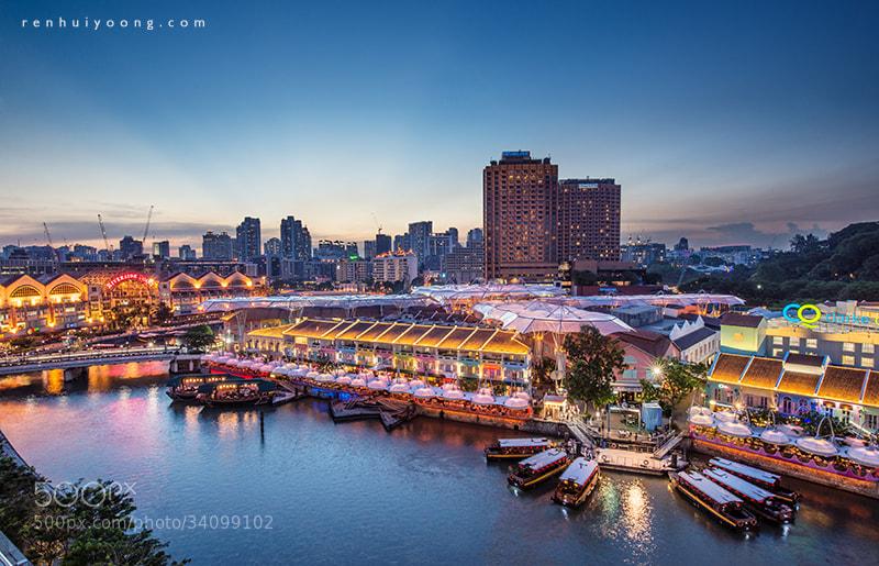 Photograph Clarke Quay by Ren Hui Yoong on 500px