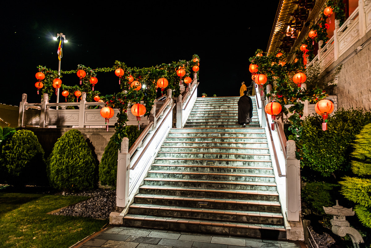 Photograph Nan Tien by Night by Aymeric Zito on 500px