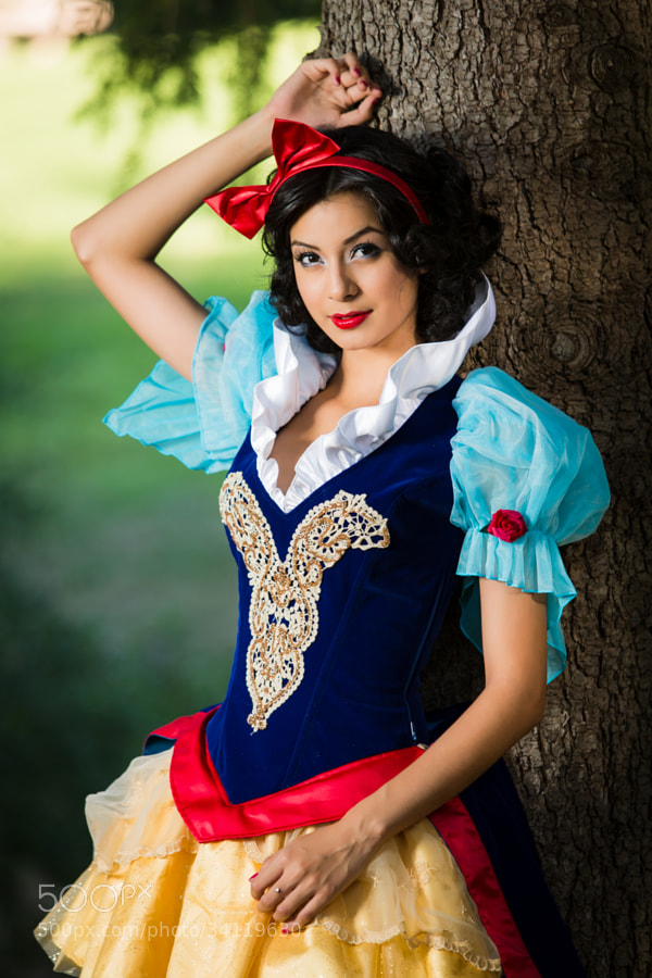 Marie as Snow White