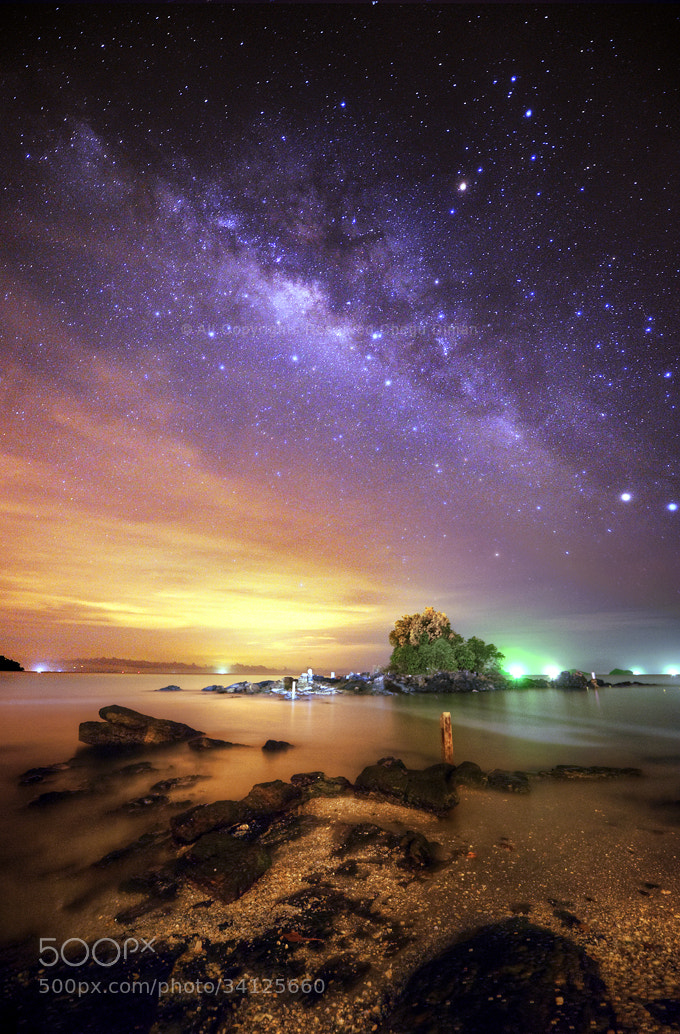Photograph Milky Way IV (HDR) by chegu diman on 500px