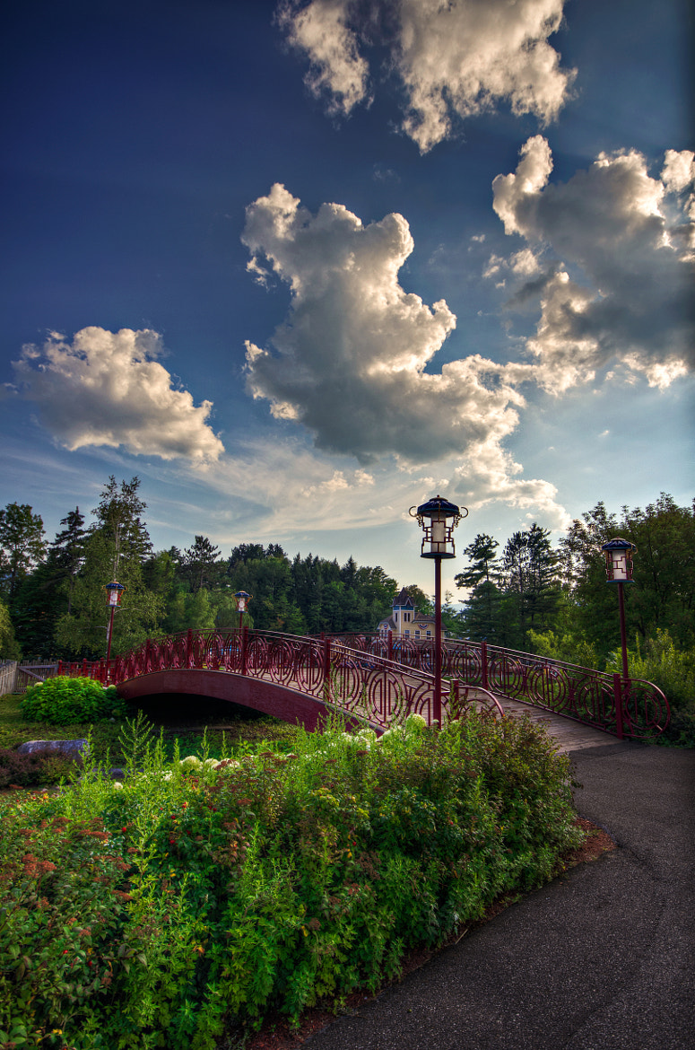 Photograph Bridge to Storyland's Bamboo Chutes by Frank Grace on 500px