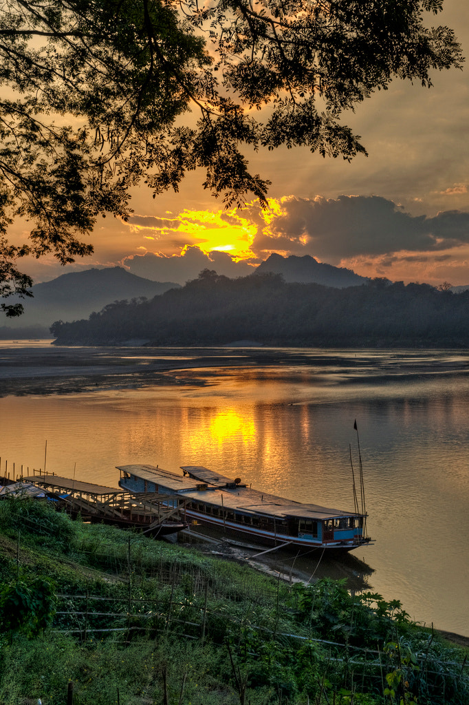 Photograph Luang Prabang Sunset by Jon Sheer on 500px