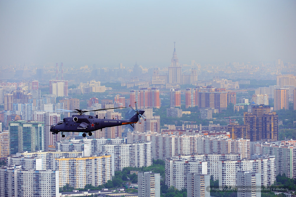 Photograph Copters over city by Roman Vukolov on 500px