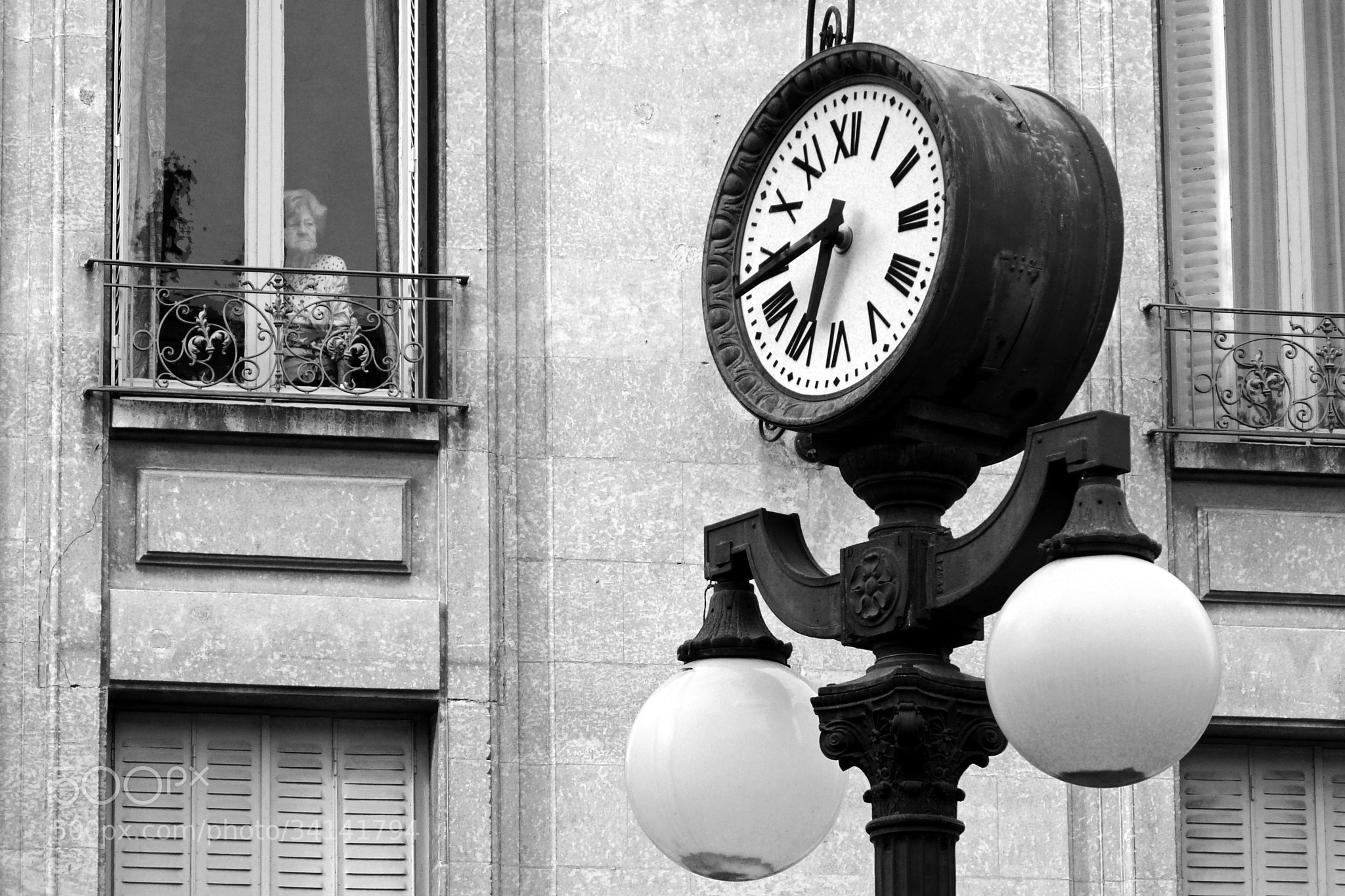 Photograph The Clock is ticking by Florent TIJOU on 500px