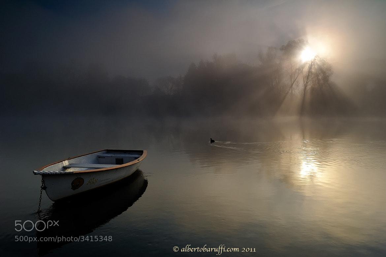 Photograph Sunrise on the Adda River  by Alberto Baruffi on 500px