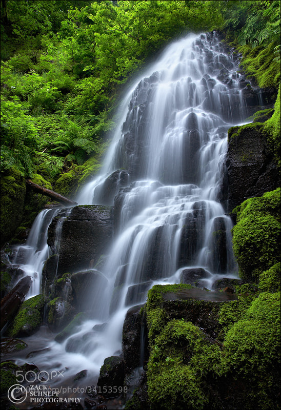 Photograph Fairy Falls by Zack Schnepf on 500px