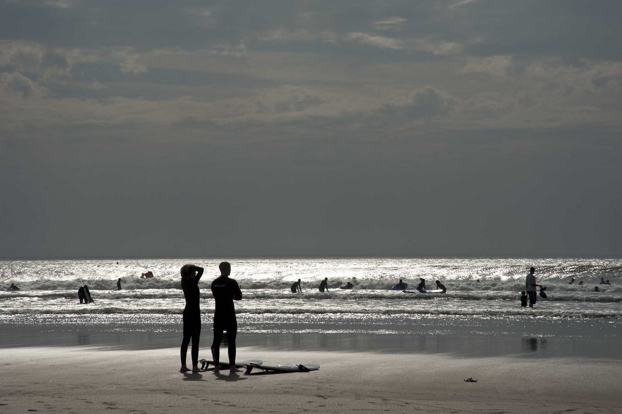 Photograph Checking the surf by Sarah Carter on 500px