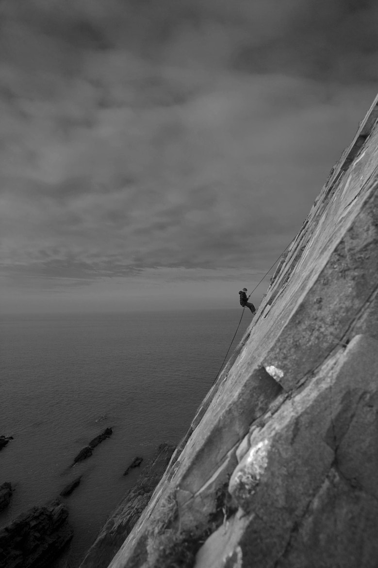 Photograph Abseiling Amy by Sarah Carter on 500px