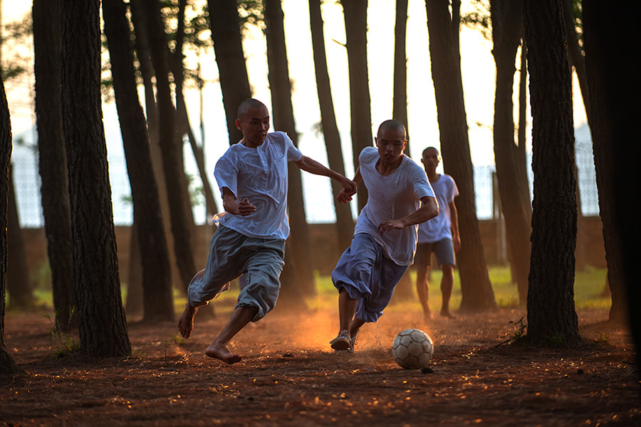 Photograph The football match of the monks by Hai Thinh on 500px