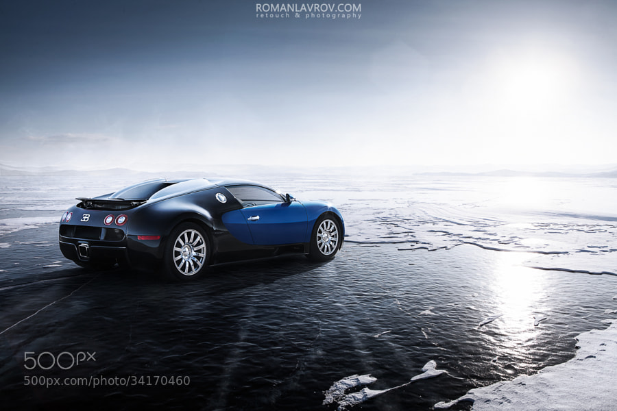 Photograph Bugatti & Baikal Lake  by Roman Lavrov on 500px