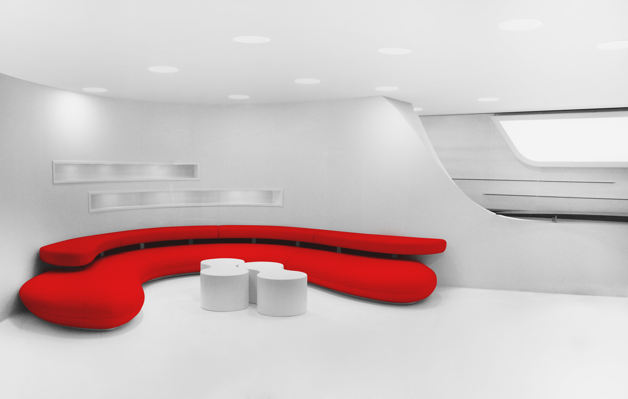 Photograph Red Couch by Julian Wagner on 500px