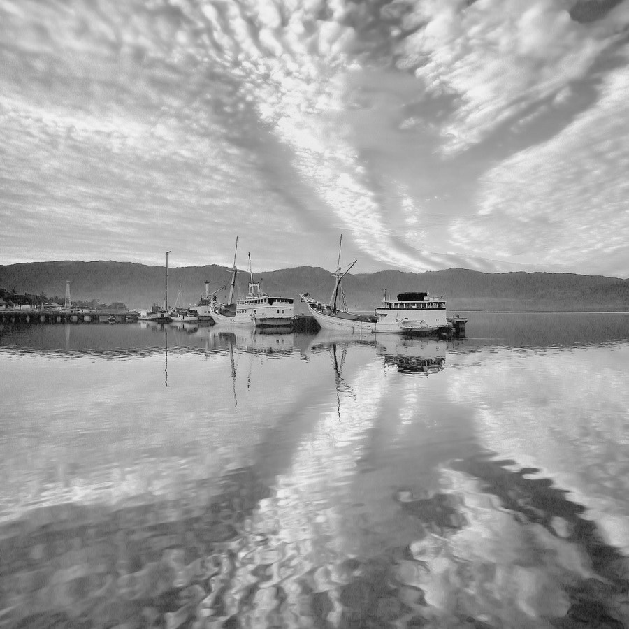Photograph  Morning Cloud in BW by Aris Winahyu BR on 500px