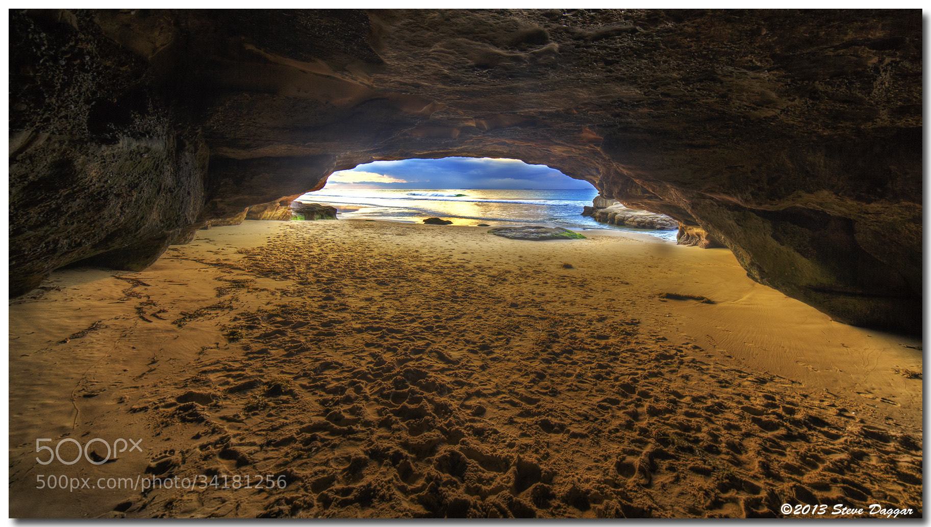 Photograph Caves Beach by Steve Daggar on 500px