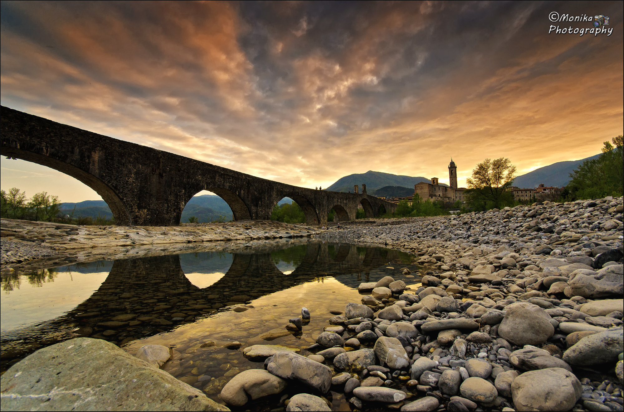 Photograph BOBBIO, SPRING SUNSET  by Monika Fotografie on 500px