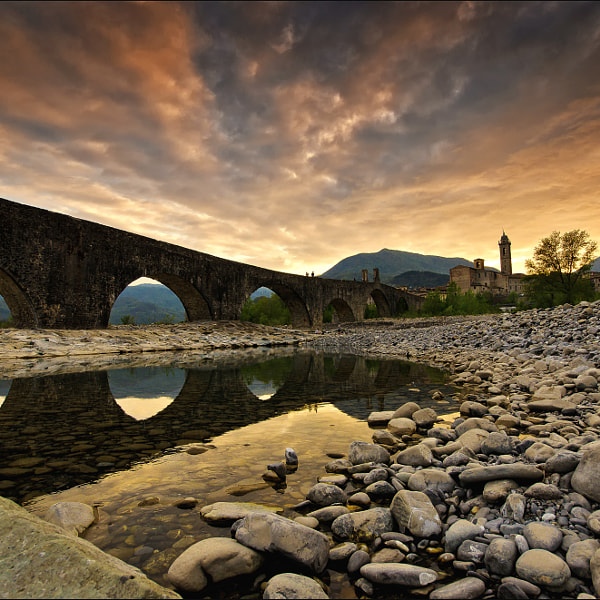 BOBBIO, SPRING SUNSET