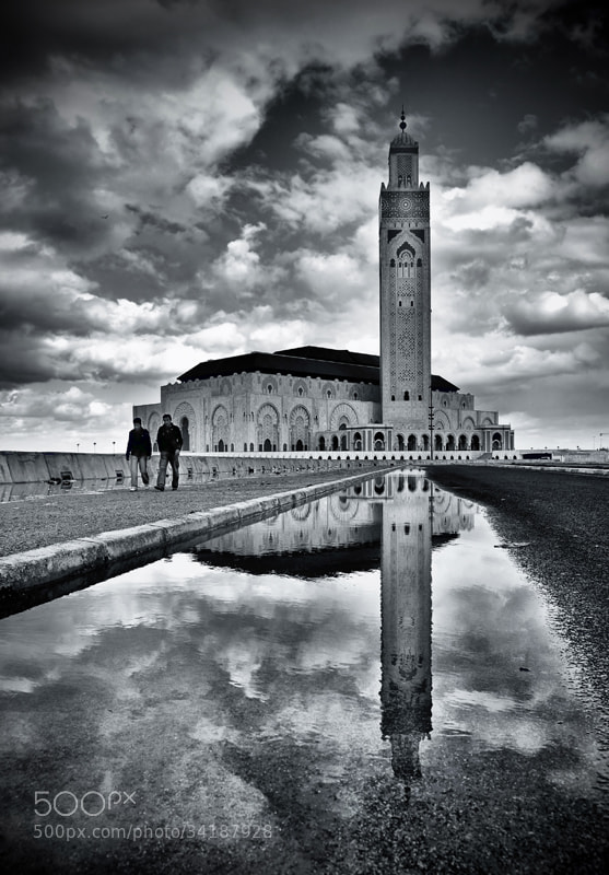 Photograph * Casablanca, mosque Hassan ll * by clement jousse on 500px