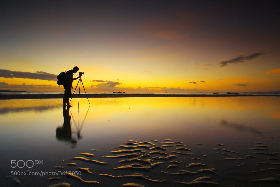 Photograph  The Landscaper Sillhouette by Aris Winahyu BR on 500px