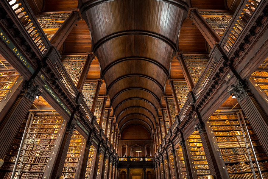 Photograph Old Library at Trinity College by Colin Wojno on 500px