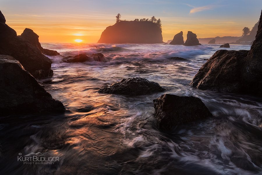 Photograph Ruby Beach Magic by Kurt Budliger on 500px