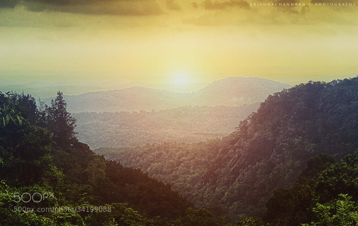 Photograph Over the hills and far away... by Krishnachandran U on 500px