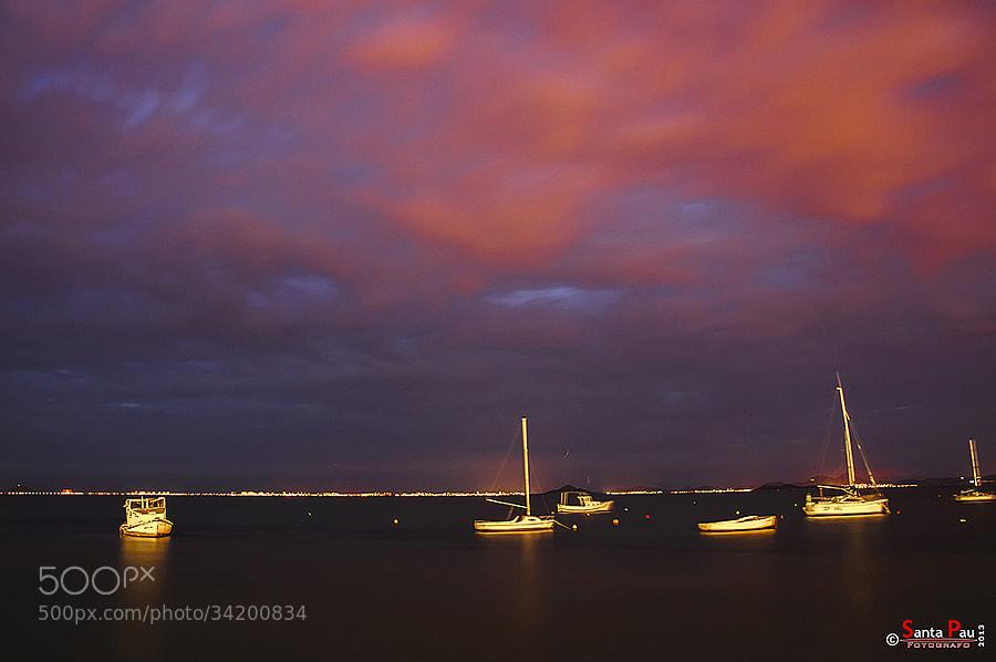 BARCOS EN EL MAR MENOR / BOATS AT SEA MINOR