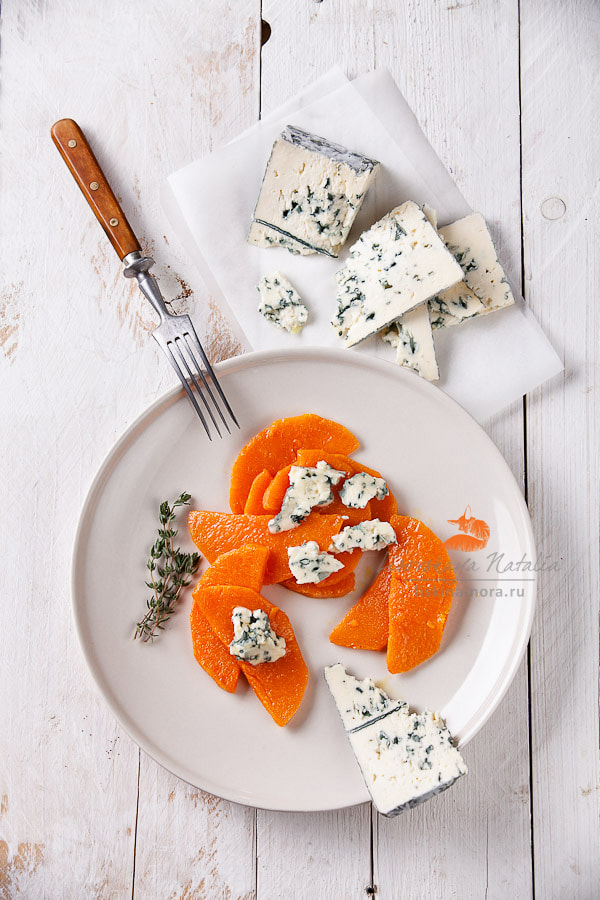 Photograph Pumpkin with Blue cheese by Natalia Lisovskaya on 500px