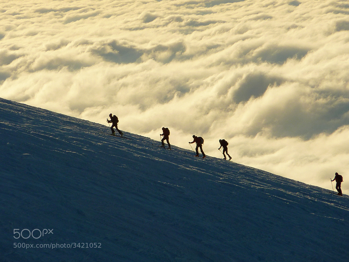 Photograph Ski touring by Fred fdefeche on 500px