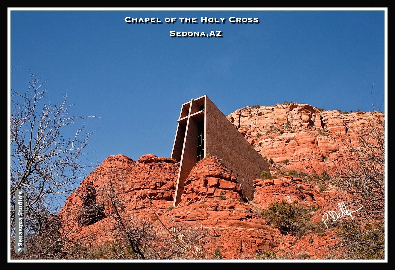 Photograph Chapel of the Holy Cross by Peter Dahlgren on 500px
