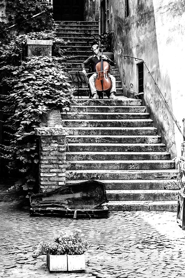 Photograph Musical notes in rome by Piero Imperiale on 500px