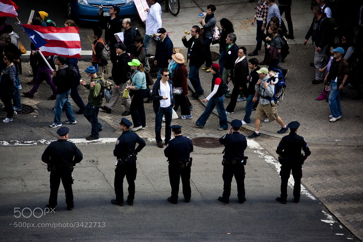 Photograph Occupy Wall Street by Zack McTee on 500px