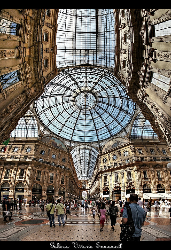 Photograph Galleria Vittorio Emmanuell II by erhan sasmaz on 500px
