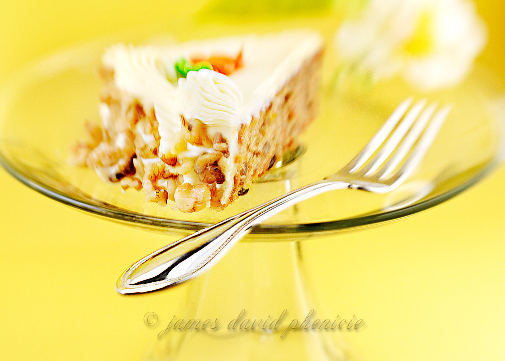 Photograph Food Series:  Carrot Cake by James David Phenicie on 500px
