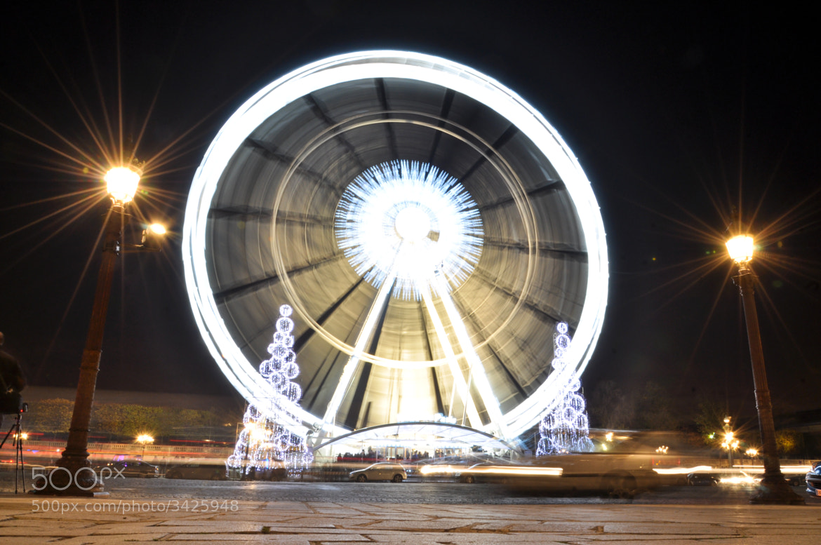 Photograph La Grande Roue by Cheng LAW on 500px