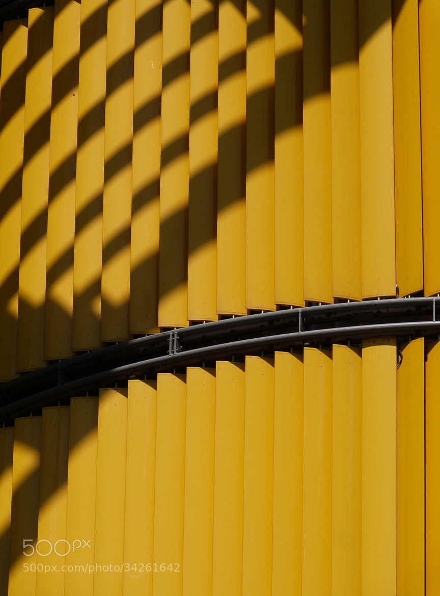 Photograph Yellow building by Florence Guichard on 500px