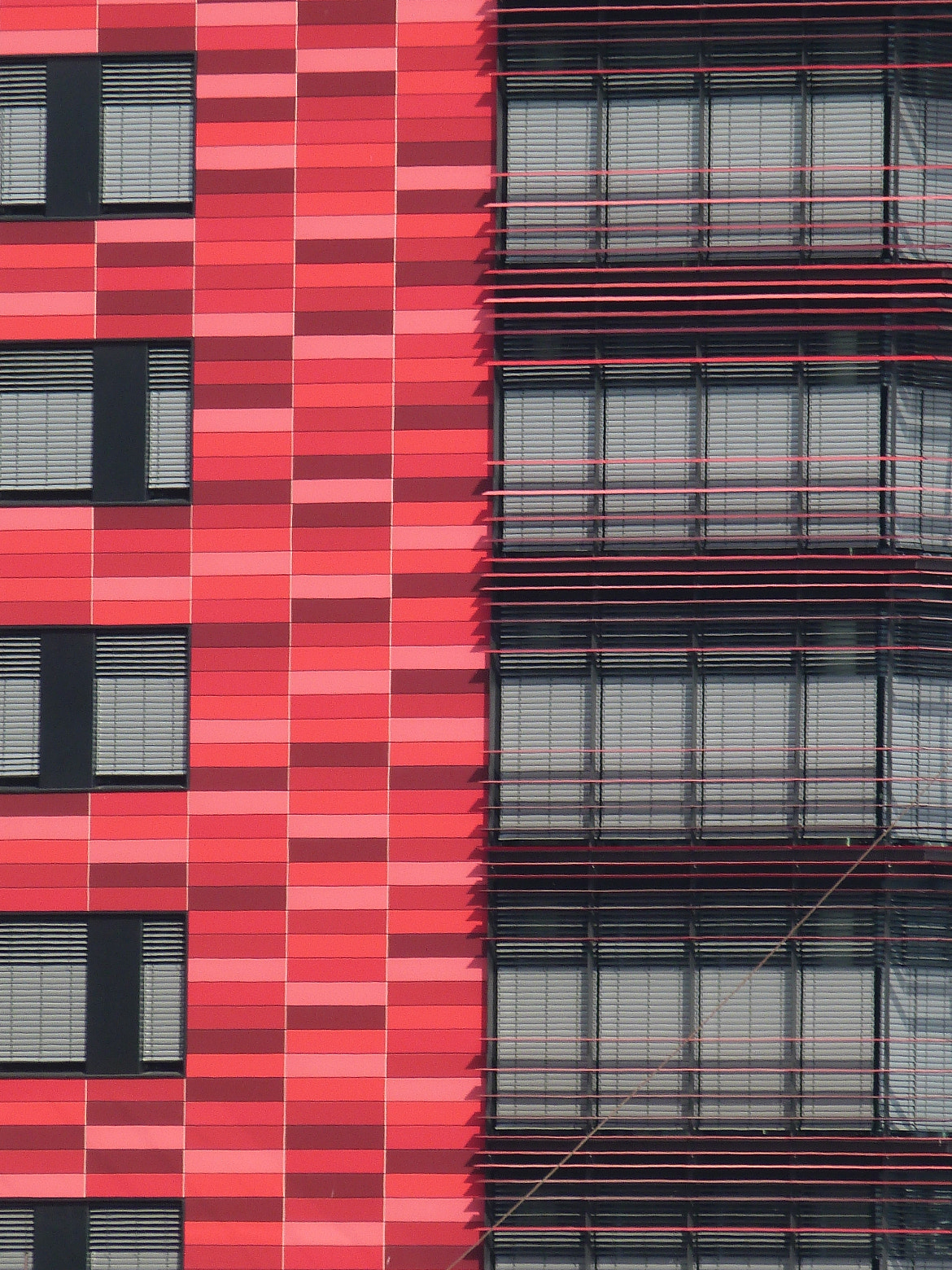 Photograph Red building by Florence Guichard on 500px