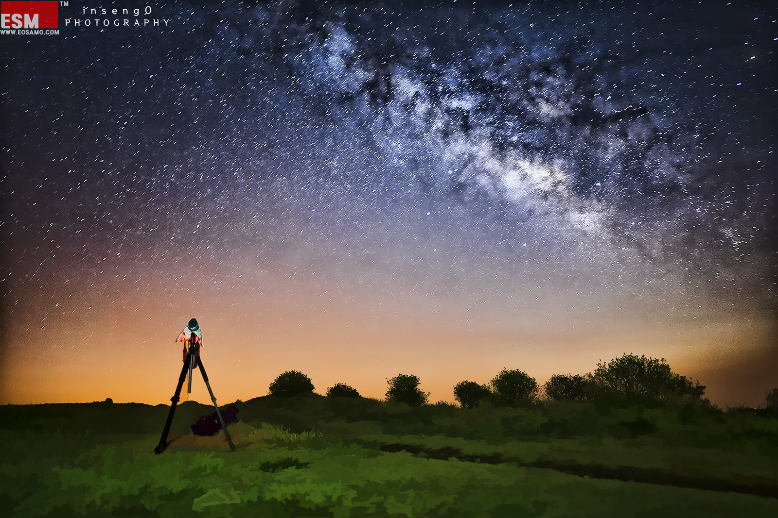 Photograph MILKY WAY II by chan-wook Kim on 500px