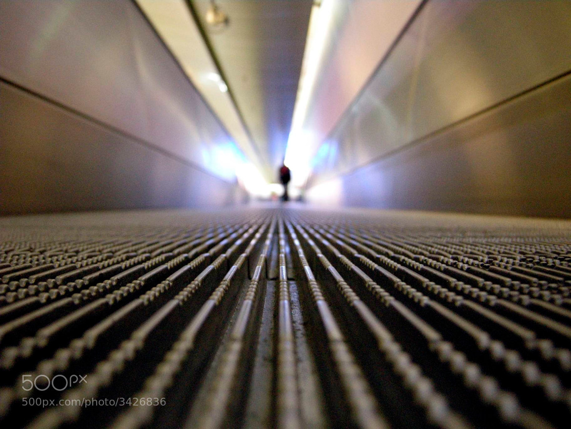 Photograph Moving walkway by Guido Merkelbach on 500px