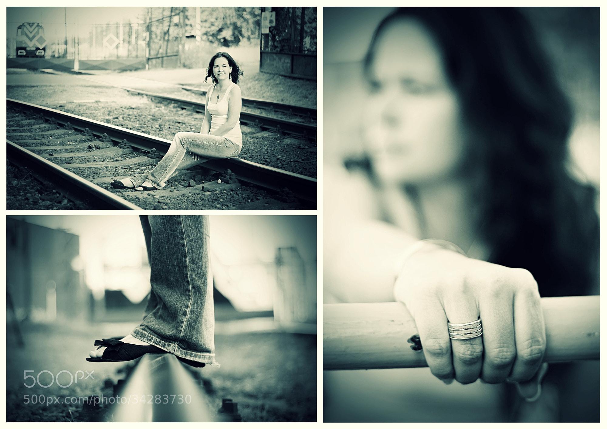 Photograph In railway... by Hanna Králíková on 500px