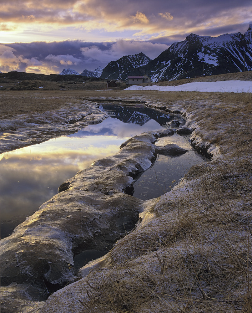 Photograph Frosted Tide Fredvang by Ian Cameron on 500px