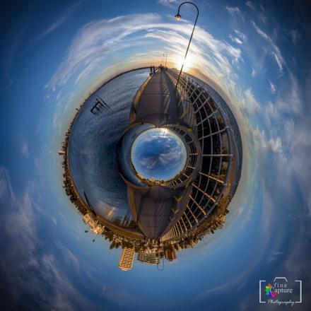 st. Kilda Pier little planet, Melbourne