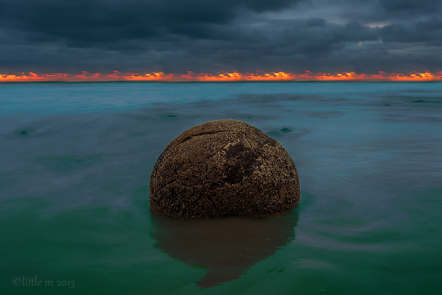 Moeraki Meteorite by little m  on 500px.com