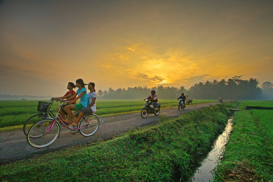 Photograph  Morning Cycling by Aris Winahyu BR on 500px