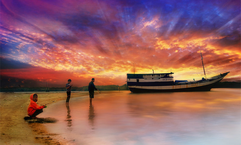Photograph fishing  by mang nick on 500px