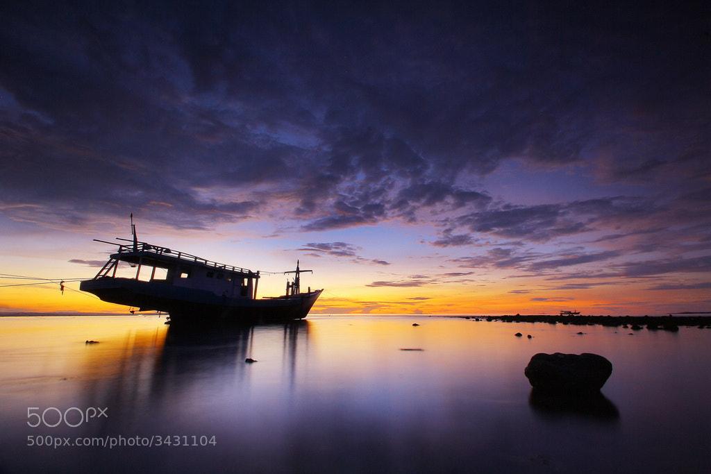 Photograph  Purple Twilight by Aris Winahyu BR on 500px