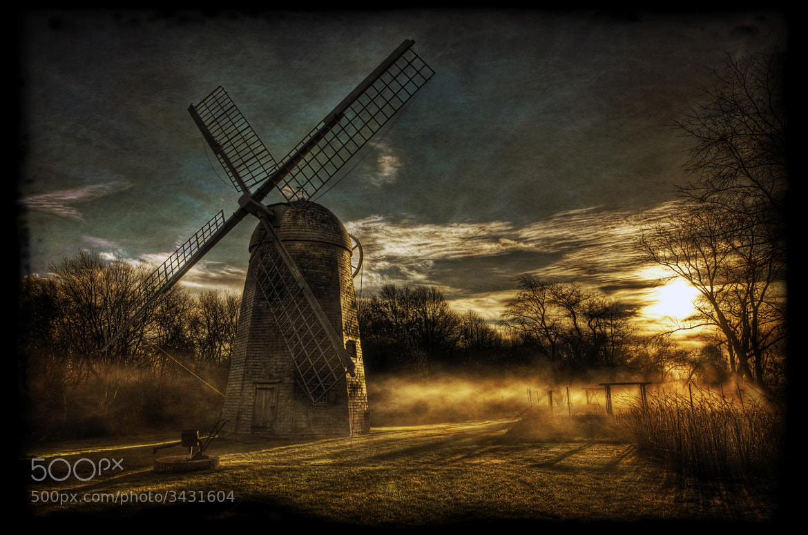 Photograph The Robert Sherman Windmill (1812) by Frank Grace on 500px