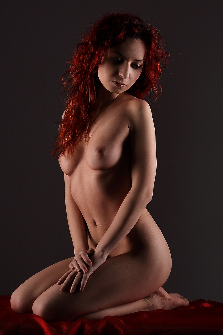 Photograph Sexy girl with red hair by Gu Wu on 500px