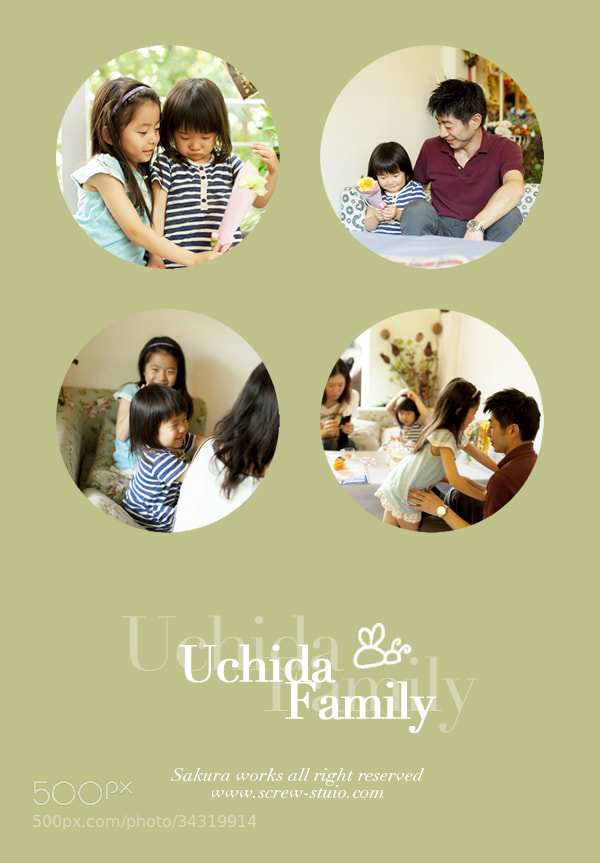 Photograph Uchida Family by Miss Sakura on 500px