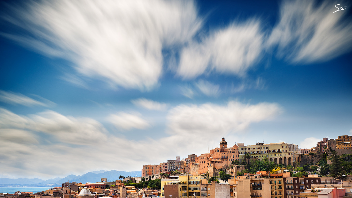 Photograph Cagliari in long exposure  by Stefano Garau on 500px